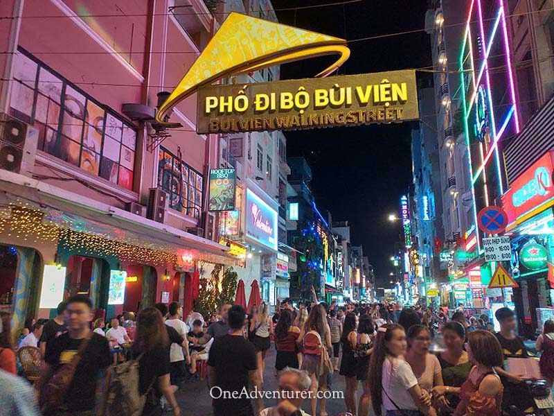 vietnam walking street