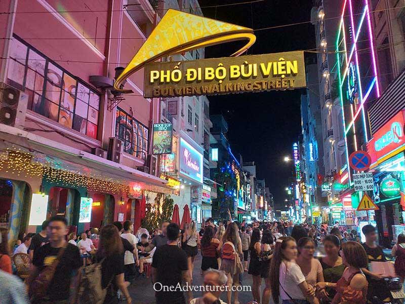 vietnam walking street