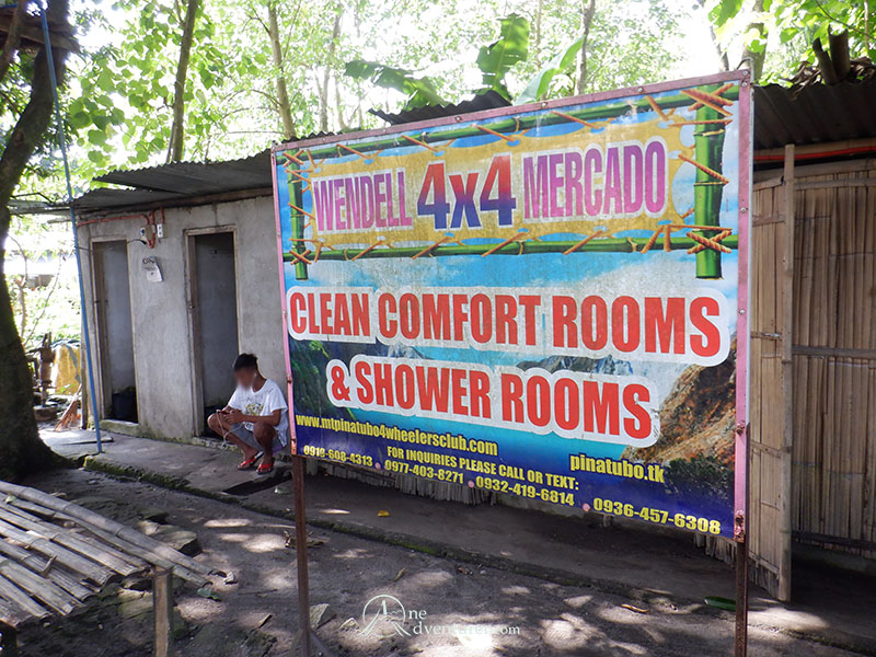mt pinatubo one adventurer bathrooms
