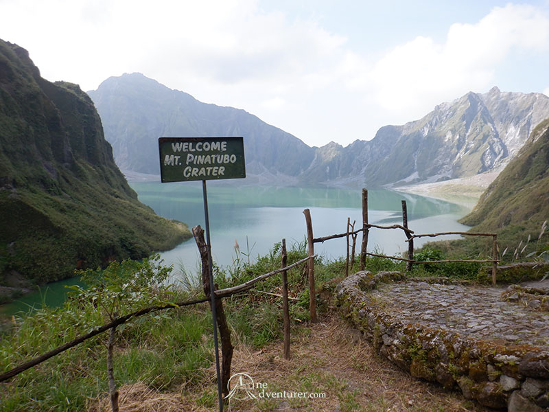 mt pinatubo one adventurer crater lake