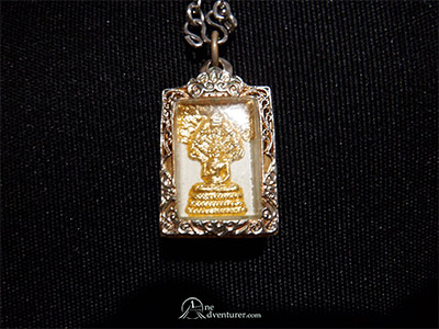 amulet from wat pho