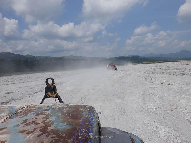 mt pinatubo 4x4 dusty one adventurer