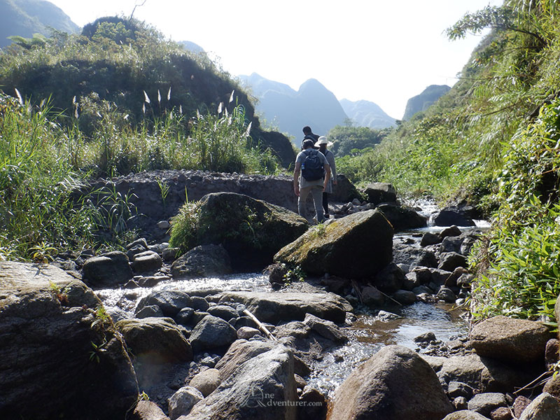 mt pinatubo one adventurer trail streams forest
