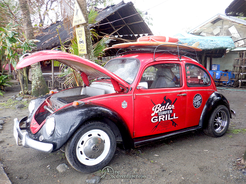 baler surfer grill car one adventurer