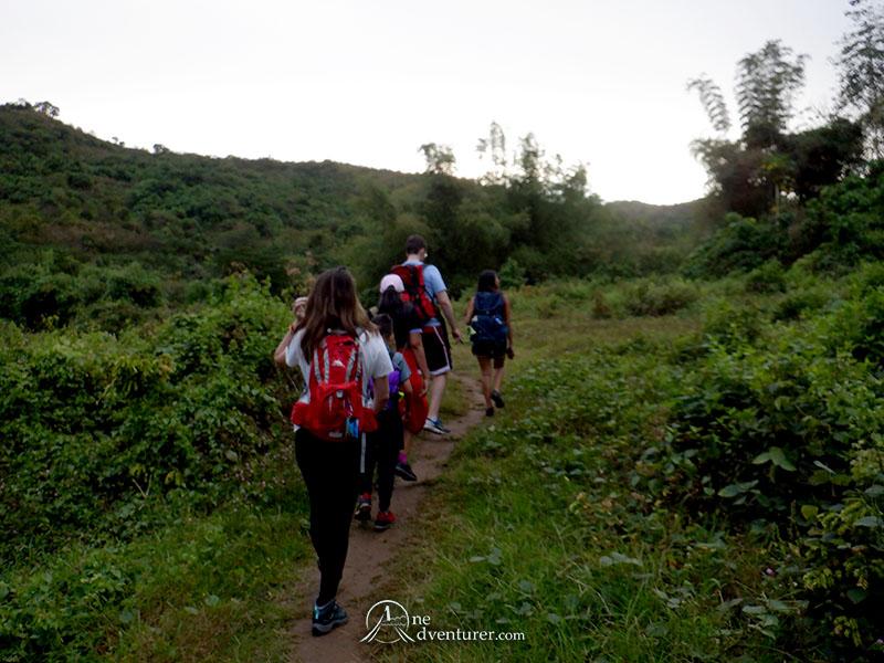 mt manalmon trail hiking